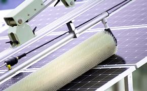 Reinigung Solarzellen